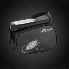 Cycling Top Tube Bag Waterproof Top Tube Frame Bag Touch Screen Phone Bag