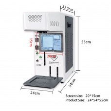 TBK958B Automatic Laser Marking Machine Back Glass Separator For iPhone Mobile Phones