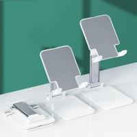 T5 Universal Adjustable Tablet Stand Holder Foldable Desktop Tablet Stand For iPad Live Streaming