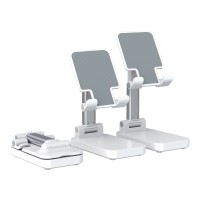T2 2-In-1 Telescopic Phone Stand Cell Phone Power Bank Foldable Phone Holder For Live Broadcast