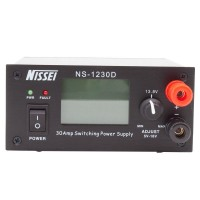 NISSEI NS-1230D Communication Switching Power Supply 13.8V 25A 5-16V Adjustable