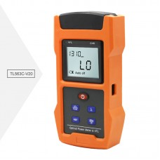 Optical Power Meter & VFL Visual Fault Locator TL563C-V20 Measuring Range -50 to +26dBm Output 20mW