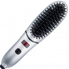 Electric Ion Heated Men Beard Straightening Comb Anti-Scald Mini Hair Straightener