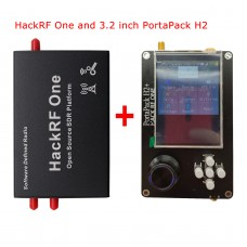 "1MHz-6GHz HackRF One SDR Platform w/ Shell + PortaPack H2 3.2"" Touch Screen 0.5PPM TCXO Clock"
