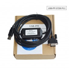 USB-PPI PLC Programming Cable Download Cable for Siemens S7200 CPU222/224/226