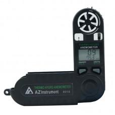 AZ8918 Digital Anemometer Handheld Wind Speed Tester Temperature Humidity Measurement Detector
