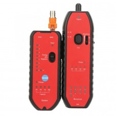 YN-892 Network Cable Tester Rechargeable Network LAN Cable Tester Cable Finder w/ LED Light