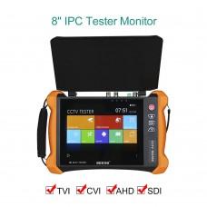 X9-ADHS 4K CCTV Tester Network + Analog + Cable Finder + HDMI Input Output + 8MP (AHD+CVI+TVI+SDI)