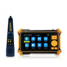 HD-3100 CCTV Tester 8MP CVI TVI AHD Analog 4 IN 1 VGA & 4K HDMI Input HD Coaxial + Cable Tracer