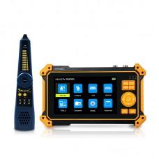 HD-3200 CCTV Tester Camera Tester 8MP CVI/TVI/AHD/SDI Support VGA Input HDMI Input 4K + Cable Tracker