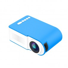 Home Projector Portable Mini Projector Home Theater Support 1080P HD YG210 Blue