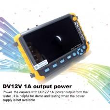 "JSK-5800ACT-VH 5"" HD CCTV Tester Security Camera Tester VGA HDMI Input For 5MP TVI 5MP AHD 4MP CVI"