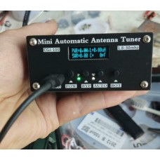 "1.8-30MHz Mini Automatic Antenna Tuner Auto Antenna Tuner with 0.91"" OLED Display"