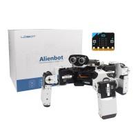 Alienbot Programmable Robot Kit Finished PC/APP Control Smart RC Robot Kit (w/ Microbit Board)