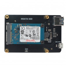 X850 V3.0 MSATA SSD Expansion Board Solid State Drive Storage Board Support 1TB for Raspberry Pi