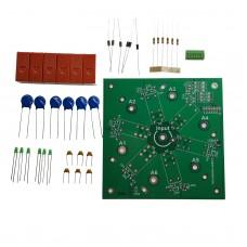 6-way DIY Kit 6:1 Coax Remote Antenna Switch SO-239 1.8MHz--60MHz