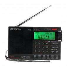 Retekess TR608 Aviation Band Radio FM/MW/S/Air Band Receiver w/ LCD Display Clock Alarm Sleep Timer