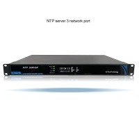 Network Time Server NTP Server IRIG-B 3 Network Ports for GPS Beidou GLONASS Galileo QZSS
