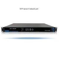 Network Time Server NTP Server IRIG-B 4 Network Ports for GPS Beidou GLONASS Galileo QZSS