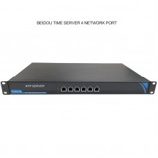 Network Time Server NTP Timer Server 4 Ethernet Ports for GPS Beidou GLONASS Galileo QZSS