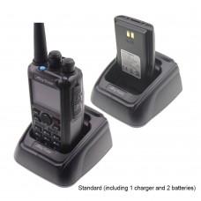 Anytone AT-D878UV Walkie Talkie DMR Radio Analog Digital APRS GPS Intercom w/ Charger 2pcs Batteries
