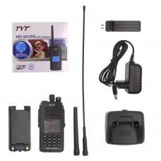 TYT MD-UV390 DMR Radio Station Dual Band Dual Time Slot Digital Walkie Talkie IP67 Waterproof