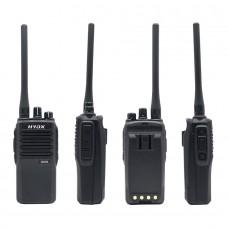 HYDX Q608 Wireless Walkie Talkie Handheld UHF VHF Two Way Radio 12W 16CH Scrambler Encryption