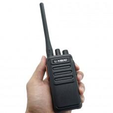 UYIBAI U800plus Wireless Walkie Talkie UHF VHF 2 Way Radio 12W 16CH Scrambler CTCSS/DCS Encryption
