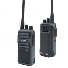 HYDX A518 Wireless FM Walkie Talkie VHF UHF Radio Type-C Charging Scrambler CTCSS/DCS Encryption