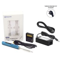 MINI SQ-001 65W Portable Electric Soldering Iron Kit 100-400℃ + PD Cable + Power Supply