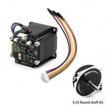 STM32 Closed Loop 57 Stepper Motor Driver 6.35 Round Shaft Kit For 3D Printing Servo Mechaduino