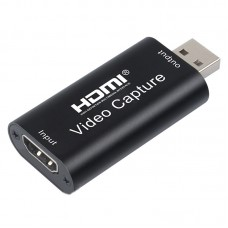 USB2.0 to HDMI Audio Video Acquisition Card for PS4/Xbox/Switch OBS Game Live Broadcast Recording