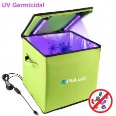 "11.8""/30cm UVC Box Foldable UVC Germicidal Sterilizer Disinfection Tent Box UVC Sanitizer PU479"