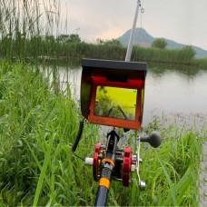 Visual Fish Finder Underwater IR Night Vision HD Fishing Camera Monitor Detector 5 Inch Display