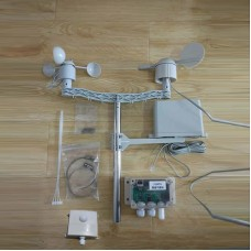 IoT 51WS5 Weather Station Data Network Sharing w/ Light Sensor for Wind Speed Wind Direction Rainfall