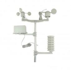 Meteorological Instrument Accessories Anemometer Wind Direction Meter Temperature Humidity Sensor Rain Gauge