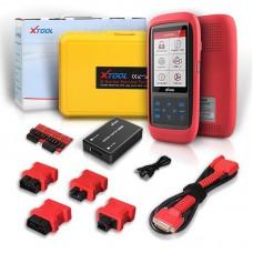 X100 Pro2 OBD2 Automotive Car Key Programmer Kit Mileage Adjustment with EEPROM Adapter