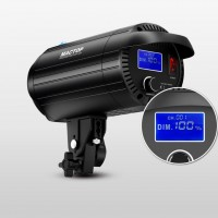 MT-150S 150W Studio Spot Light LED Fill Light with LCD Display For Studio Photography Live Broadcast