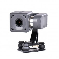 Arkbird 2-Axis Brushless Gimbal Camera for FPV Fixed Wing Drones 2K Integrated Gimbal Camera Fixed Installation