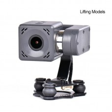 Arkbird 2-Axis Brushless Gimbal Camera for FPV Fixed Wing Drones 2K Integrated Gimbal Camera  Hoisting Installation