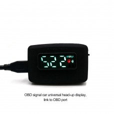 SINCOTECH Car HUD Head-up Display OBD2 Speedometer Overspeed Warning System DO902 for 12V Vehicles