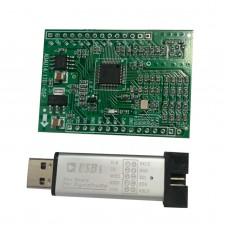 DSP Board ADAU1401 Howling Suppression Board + USBi Emulator Burner USB Programmer For SigmaStudio
