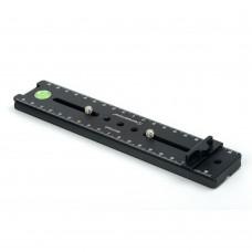 DPG-210R 200mm Nodal Rail Quick Release Plate Multi-Purpose Rail For DSLR Camera Tripod Plate