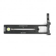 DMC-200LR 200mm Vertical Rail Quick Release Plate with On-End Clamp For Arca Clamp DSLR Cameras