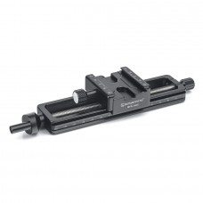 MFR-150S Macro Focusing Rail Slider with Screw-Knob Clamp Load 7KG Dovetail Groove For Arca RRS Clamp