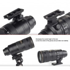 LF-N3 Lens Foot Mounting Foot For Nikon 70-200mm f/2.8G ED VR II Lens Arca Really Right Stuff Clamps