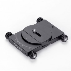CPV-02 Camera Dolly without Mobile Phone Bracket For 360° Panoramic Photography Vlog