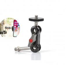 GA-01 Clamp Magic Arm For DSLR Camera Monitor Video LED Light Stand Flash Photography Tripod Studio