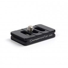 DP-26R 26mm Universal Quick Release Plate QR Plate For Arca-Swiss Style RRS Compact Cameras