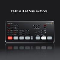 BMD ATEM Mini Switcher Four-Way On-site Directed Cutting Platform HD Video Live Stream Switcher